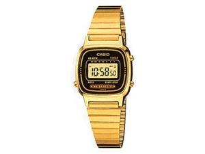 Casio Ladies Watch GOLD Metal Band LA670WG-1 Woman