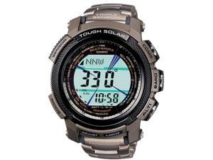 Casio PAW2000T-7 Men's Pathfinder Multi-Function Titanium Bracelet Watch