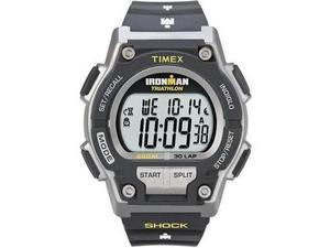 TIMEX  Ironman 30 Lap Shock Watch, Grey