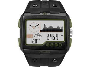 Timex T49664 Expedition WS4 Black/Green Mens Watch