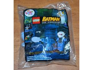Lego Batman Mcdonald's Happy Meal Toy Figure #4 Mr. Freeze Ice Blast