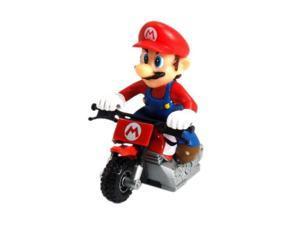 Nintendo Mario Kart Wii Pull Back Racer - Motorcycle Mario