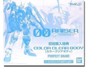 Gundam 00 PG 00 Raiser Color Clear Body 1/60 Scale Model Kit Extra Parts