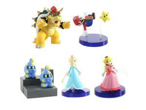 Super Mario Galaxy Desk Top Figure (Set of 5)