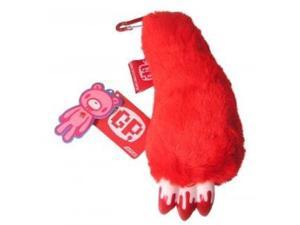 Gloomy Bear Red Paw With Bloody Nails Plush Keychain Strap