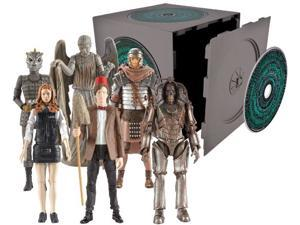 Doctor Who Pandorica CD Cube Action Figures Set of 6