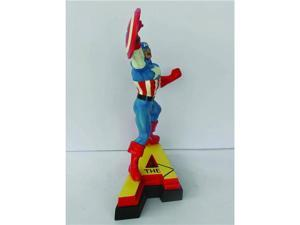 Marvel Universe Captain America Collectible Figural Paperweight (A)