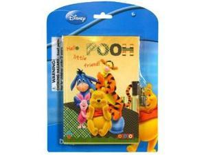Winnie the Pooh Diary with Lock - Pooh Bear, Eeyore, Tigger and Piglet