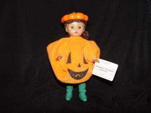 Mcdonald's Madame Alexander 2003 Halloween Pumpkin Doll