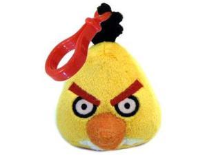 "Angry Birds 3"" Yellow Bird Plush Clip-On"
