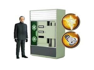 Doctor Who The Master with Tardis as Computer Bank Figure