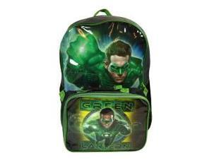 DC Green Lantern Large Backpack with Lunch Bag
