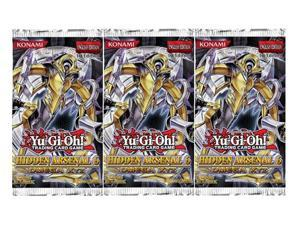 Yu-GI-Oh Hidden Arsenal 6 Omega XYZ 3 Booster Pack Lot