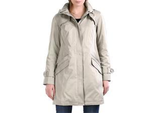 Jessie G. Women's 'Olivia' Raglan Sleeve A-Line Hooded Coat in Black, Gray or Tan