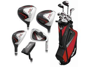 Wilson Tour RX Full Set RH 10 Clubs + Stand Bag Long NEW