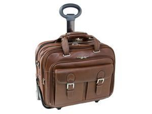 "Siamod Ceresola Checkpoint-Friendly 17"" Detachable-Wheeled Laptop Case"
