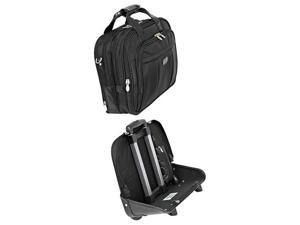 "Mcklein Damen 17"" Detachable-Wheeled Laptop Case (Black)"