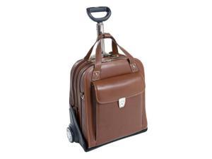 Siamod Pastenello Leather Vertical Detachable-Wheeled Laptop Case