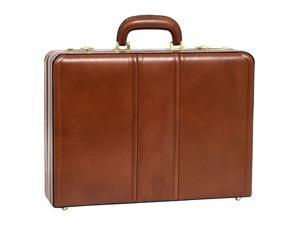 McKlein Coughlin Leather Expandable Attache Case - OEM