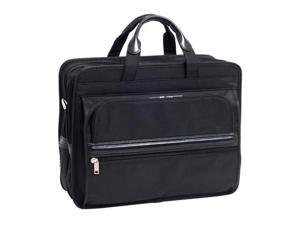 Mcklein Elston Nylon Double Compartment Laptop Case