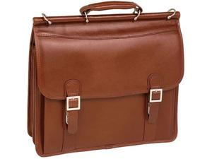 McKlein Halsted Leather Double Compartment Case