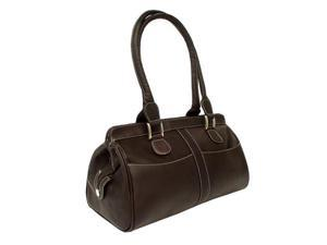 Piel Leather Double Handle Handbag