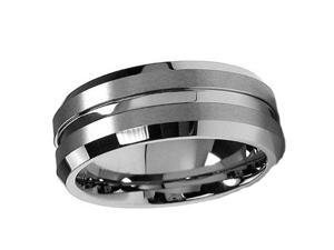 Tungsten Carbide Ring 7MM size 8.5