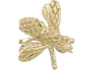 CleverSilver's 14K Yellow Gold Bee Brooch8. 0 0X6. 0 0 Mm