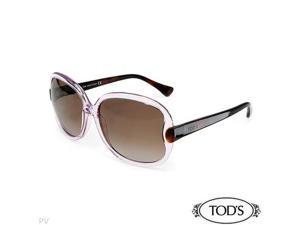 TODS TO0003 Made in Italy Elegant Brand New Sunglasses Length 5.75in - OEM