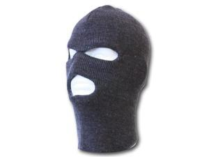 3 Hole Winter Ski Mask- Charcoal