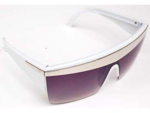 Unique Lady Gaga Just Dance 80's Inspired Sunglasses- White