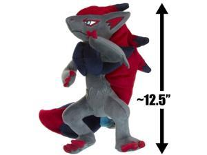 "Zoroark ~12.5"" Plush: Pokemon Diamond & Pearl Nuigurumi Plush Series"
