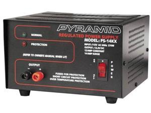 14 Amp PYRAMID PS14KX AC/DC Regulated Power Supply
