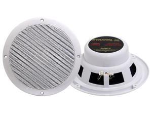 "2)  PYRAMID MDC7 6.5"" 240W Marine Boat Outdoor Speakers"