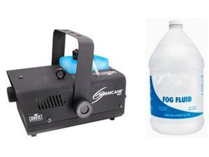 CHAUVET H-900 Fog/Smoke Pro Machine + Gallon Fluid