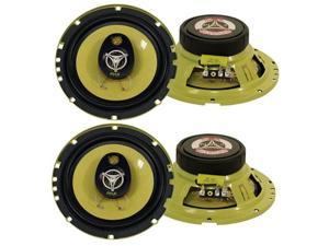 "2 Pair of PYLE PLG6.3 6.5"" 280W 3-Way Audio Car Speakers"