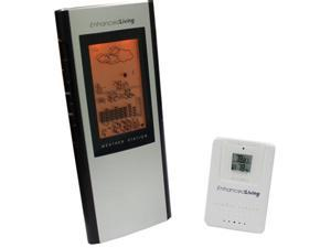 Enhanced Living WS-20 Alert Works Deluxe Weather Wireless Forecast Station