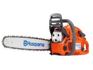 "HUSQVARNA 460 20"" 50.2cc 3.2Hp Gas Powered Chain Saw X-Torq Chainsaw Orange"