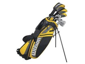 WILSON ULTRA Complete Package Right Handed Mens Golf Club Set w/ Bag - WGGC86500