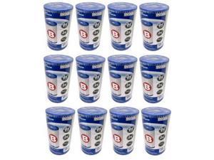 INTEX Pool Easy Set Filter Cartridge Type B 59905E (12 Pack)