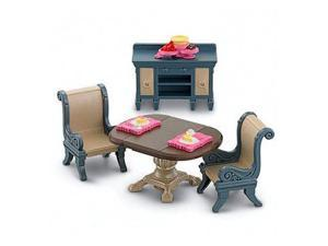 Fisher Price Loving Family Dining Room Doll Furniture Set | W8785