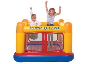 INTEX Inflatable Jump-O-Lene Ball Pit Playhouse Bouncer House | 48260EP