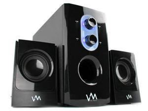 VM Audio VMCS21 300W 2.1 Home/Computer Multimedia Surround Speaker System