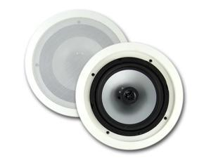 "VM Audio 8"" 350 Watt 2-Way In-Ceiling/Wall Surround Speakers (Pair) 