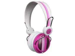 VM Audio Shaker SRHP5 Stereo Over-Ear DJ Headphones (Pink)