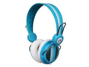 VM Audio Shaker SRHP5 Stereo Over-Ear DJ Headphones (Blue)