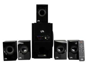 VM Audio EXMS513 600W 5.1CH Home Multimedia Surround Sound Speaker System