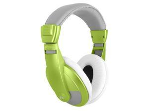 VM Audio SRHP15 Stereo Over the Ear DJ Headphones (Lime)