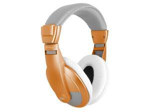 VM Audio SRHP15 Stereo Over the Ear DJ Headphones (Orange)