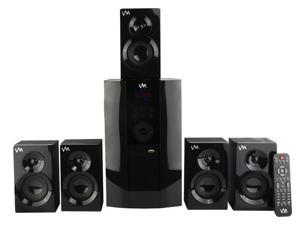 VM Audio EXMS590T 800W 5.1CH Home Multimedia Surround Sound Speakers System